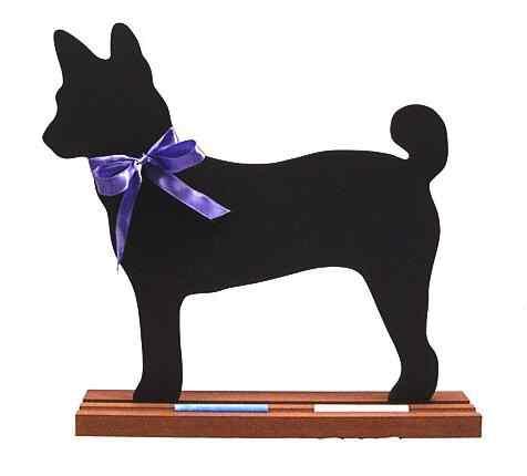 Basenji Dog Breed Chalkboard