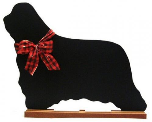 Bearded Collie Dog Breed Chalkboard