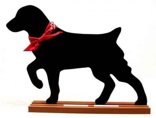 Brittany Dog Breed Chalkboard