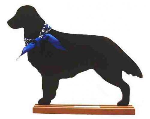 Flat Coated Retriever Dog Breed Chalkboard