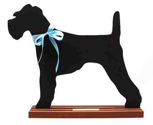 Irish Terrier Dog Breed Chalkboard
