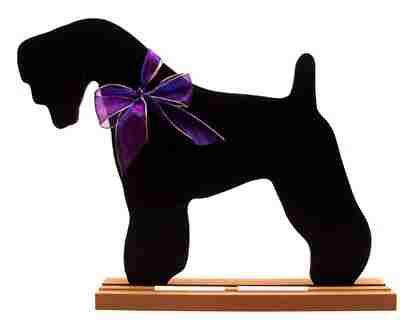 Kerry Blue Terrier Dog Breed Chalkboard