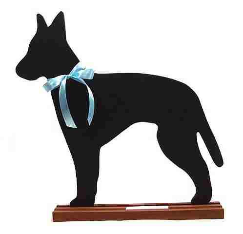 Manchester Terrier Dog Breed Chalkboard