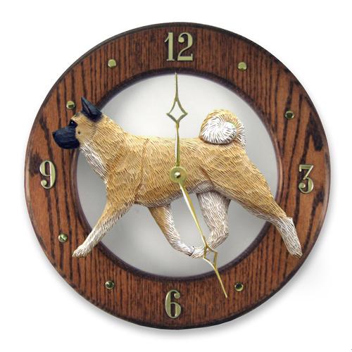 Akita Dog Wall Clock
