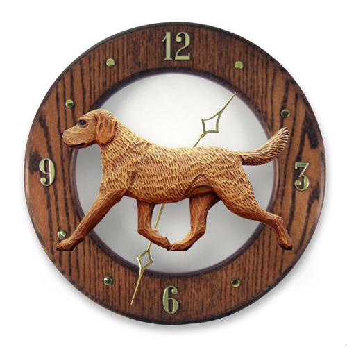 Chesapeake Bay Retriever Dog Wall Clock