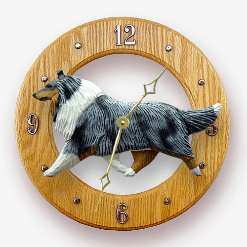 Collie Dog Wall Clock