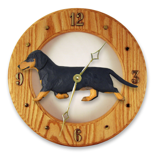 Dachshund, Smooth Hair - Dog Wall Clock