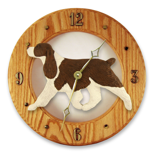 English Springer Spaniel Dog Wall Clock