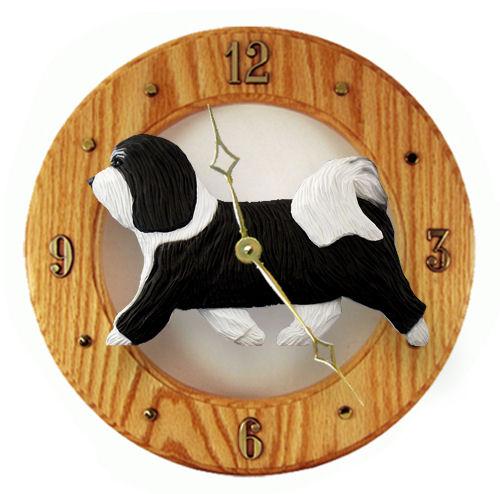Havanese Dog Wall Clock