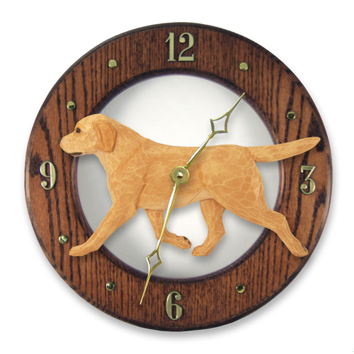 Labrador Retriever Dog Wall Clock