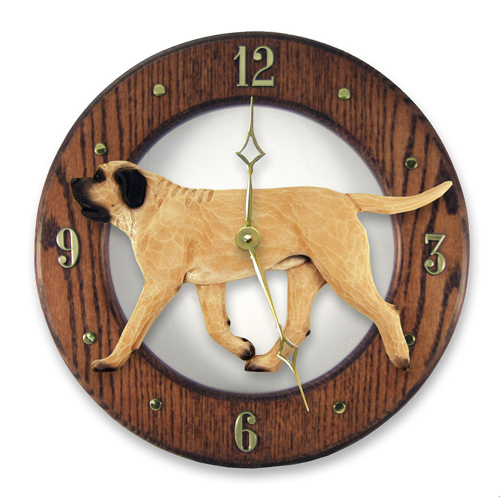 Mastiff Dog Wall Clock