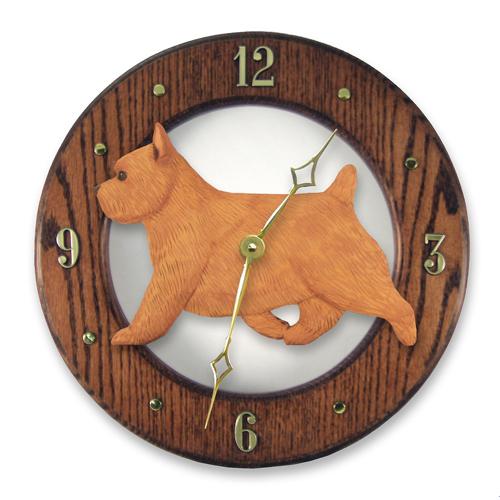 Norwich Terrier Dog Wall Clock