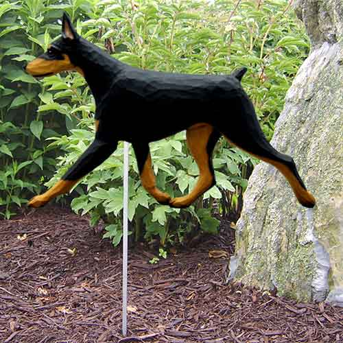 Doberman Pinscher  Dog Garden Stake