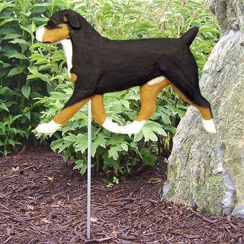 Entlebucher Dog Garden Stake