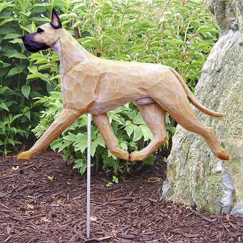 Great Dane  Dog Garden Stake