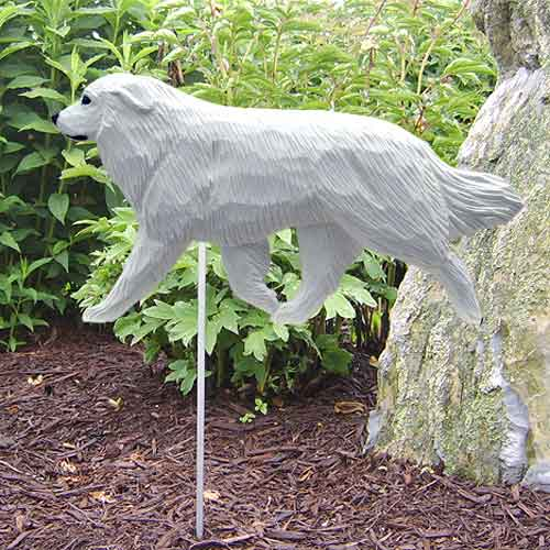Great Pyrenees  Dog Garden Stake