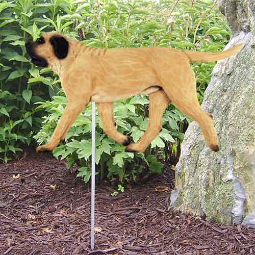 Mastiff  Dog Garden Stake