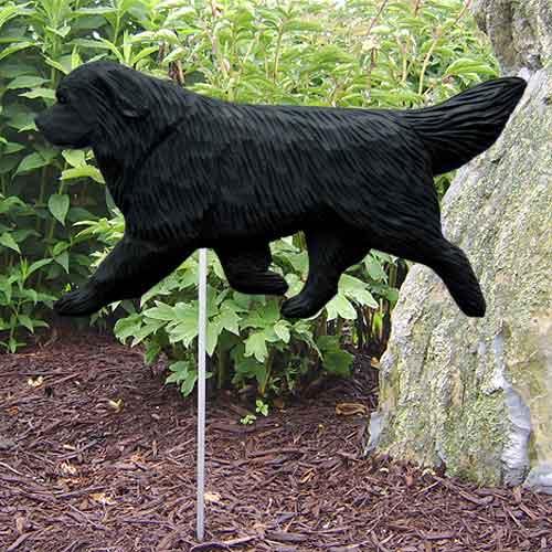 Newfoundland  Dog Garden Stake