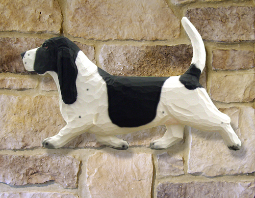 Basset Hound Dog Wall Art