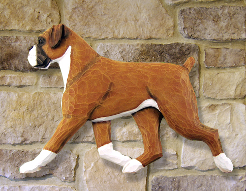 Boxer, Natural Dog Wall Art