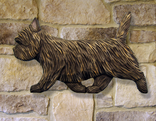 Cairn Terrier Dog Wall Art