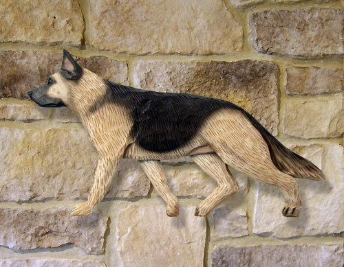 German Shepherd Dog Wall Art
