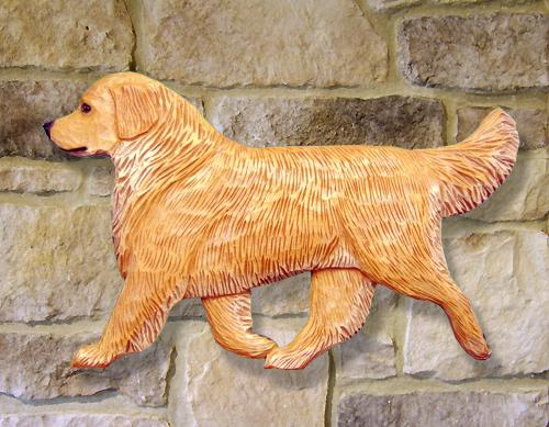 Golden Retriever Dog Wall Art