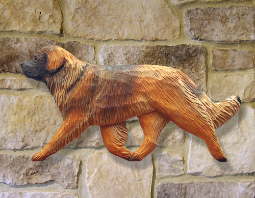Leonberger Dog Wall Art - Close Up