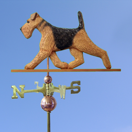 Airedale Terrier Dog Weathervane