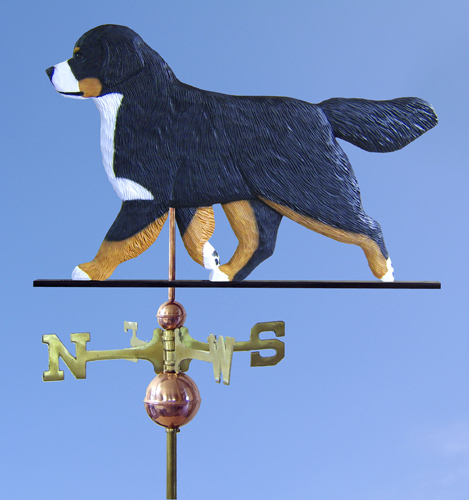 Bernese Mountain Dog Weathervane