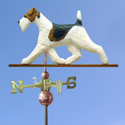 Fox Terrier, Wire Dog Weathervane