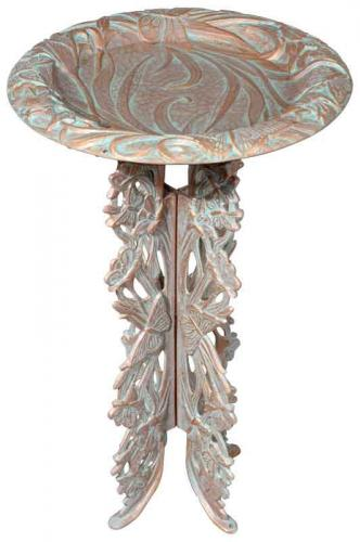 Butterfly Birdbath with Pedestal
