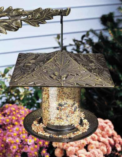 6 Inch Oak Leaf Bird Feeder