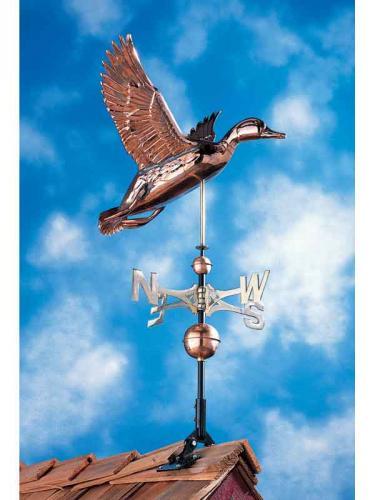 Duck Copper Weathervane