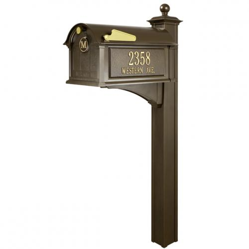 Balmoral Mailbox Package - French Bronze