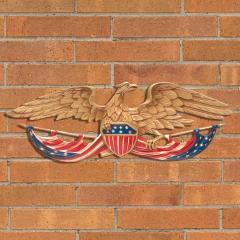 24 inch Patriotic Wall Eagle - Color