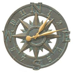 16 inch Compass Rose Clock