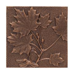 Maple Leaf Wall Décor - Antique Copper