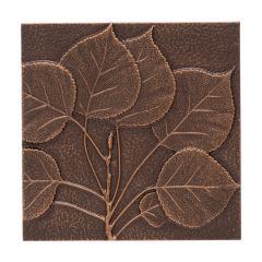 Aspen Leaf Wall Décor - Antique Copper