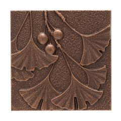 Gingko Leaf Wall Décor - Antique Copper