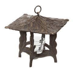 Pinecone Twilight Lantern - French Bronze