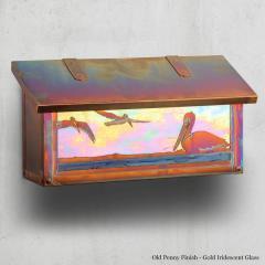 Pelican Horizontal Wall Mailbox