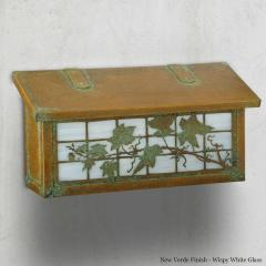 English Ivy Horizontal Wall Mailbox