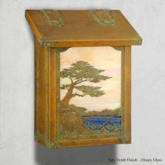 Monterey Cypress Vertical Wall Mailbox