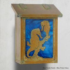 Seahorse Vertical Wall Mailbox