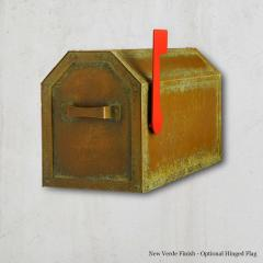 Angled Top Post Mount Mailbox