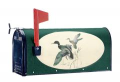 Oval Graphic Mailbox - Style: Mallards