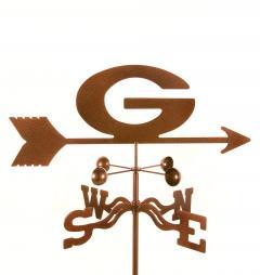Georgia or Green Bay Garden Weathervane