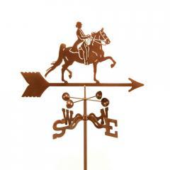 English Rider Horse Garden Weathervane