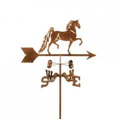 Saddlebred Horse Garden Weathervane